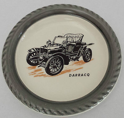 "Wade Veteran Cars Series 1 (No. 3) 1904 Darracq ""Genevieve"" Plate"