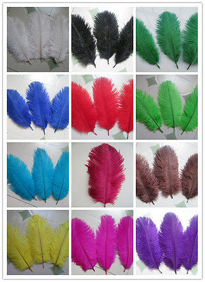 Wholesale 10-50pcs High Quality Natural Ostrich Feathers 6-8 inches / 15-20cm