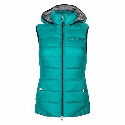 Euro Star Agnes vest In Emerald Green - Size Large