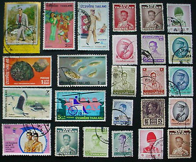 Thailand: Collection Of Used Stamps; Lot 5