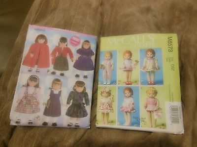 Dolls Clothes Patterns x 2