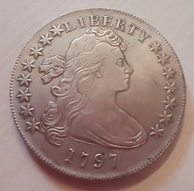 Old Coin 1797 Liberty