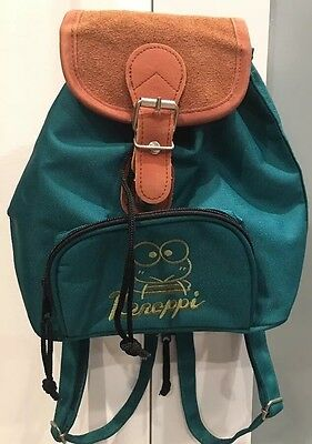 Vintage Sanrio Keroppi Green Small Backpack Bag
