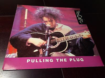 THE CURE - Pulling The Plug. MTV Unplugged. Vinyl 1991