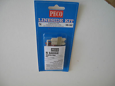 N Scale Lineside kit - Inspection pit Peco NB-56F