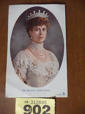 Vintage Photographic Postcard - Her Majesty Queen Mary