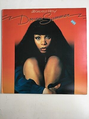 Donna Summer - The Greatest Hits Of Donna Summer 1977 UK vinyl LP