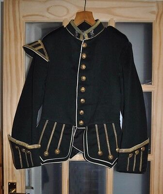 Pre WW1 Unissued 'The Royal Highlanders Black Watch' Piper's Jacket + lapel pins