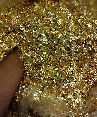 500 Grams Beautiful Gold Leaf Flakes The Best Deal On Ebay..!!