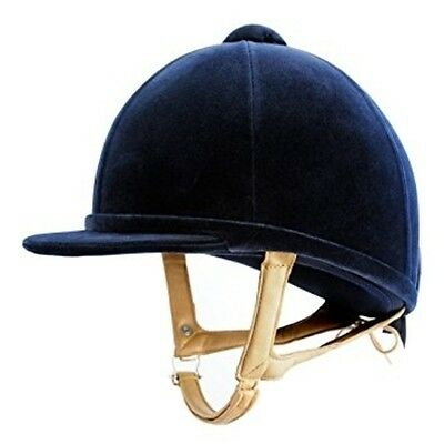 New Charles Owen H2000 Hat/helmet Black / Navy All Sizes Worldwide Shipping