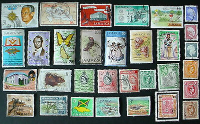Jamaica: Collection Of 31 Used Stamps:  Lot 4