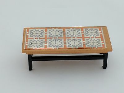 Dolls House Coffee Table Vintage Accessories Unknown Maker Lundby Barton