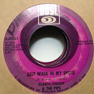 Gladys Knight & The Pips-Just Walk In My Shoes / Stepping Closer To Your Heart