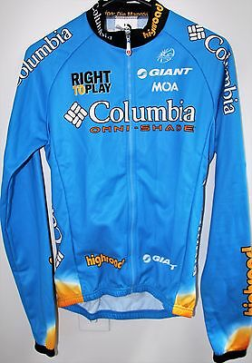 CYCLING JERSEY LONG SLEEVE - COLUMBIA HIGHROAD - TEAM ISSUE - by MOA
