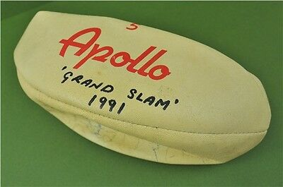 Apollo Rugby Ball Signed By England R.F.U Squad From Grand Slam 1991 Collectable