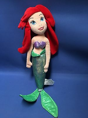 Disney Store The Little Mermaid Large Plush Ariel  Doll