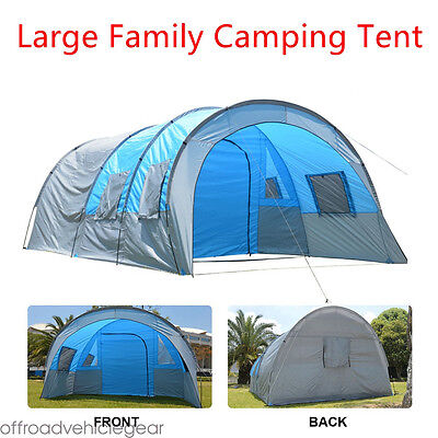 Large 6 Person Men Waterproof Family Group Camping Travel Hiking Outdoor Tents