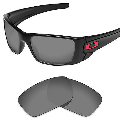 Sport Black Replacement Lenses for-Oakley Fuel Cell Polarized by Tintart