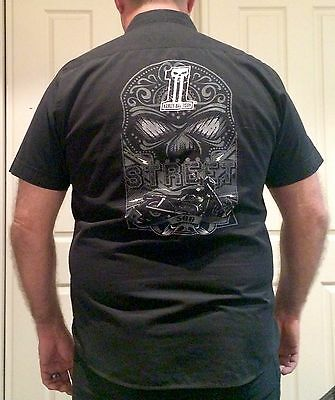 "Mens Harley Davidson Street 500 ""No. 1"" Staff Promotional Shirt"