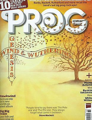 Prog MAGAZINE GENESIS Wind And Wuthering MOSTLY AUTUMN BIG BIG TRAIN MEW + CD
