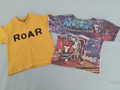 Baby Tshirts X 2 Size 6-9 Months