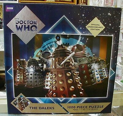 Dr Who Anniversary Edition Jigsaw - The Daleks - 1000 pieces