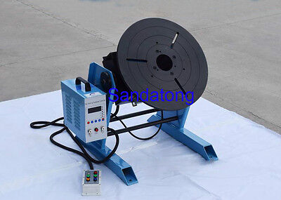 CNC 100KG Welding Positioner Turntable Timing Function, With 300mm Chuck 110V