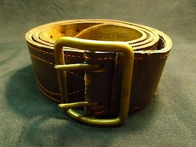 1984 Russian Soviet Army Officer Portupee Leather Belt USSR