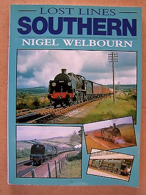 Lost Lines Southern. Railways Trains Book.