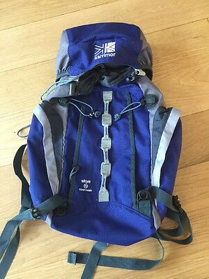 Karrimor Rucksack 25 Litre Hiking Camping Backpacking Beach Holidays