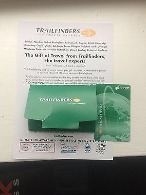 Trailfinders Voucher worth £1000 selling for £800