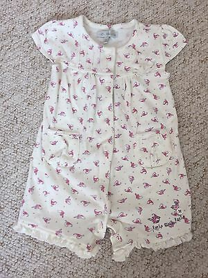 Baby Girls Summer Romper Outfit By Little Rocha 3-6 Months