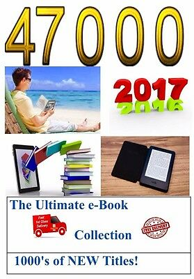 47500 Kindle Book Collection + Conversion software Bang Up To Date! The Best!!!