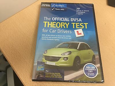 The Official Dvsa Theory Test For Car Drivers Pc/ Mac Dvd Rom New