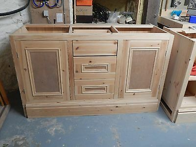 solid wood kitchen wall & base units