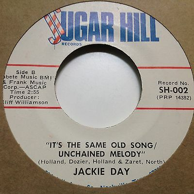 Jackie Day -It's The Same Old Song/unchained Melody/i Keep Forgetting -C&w