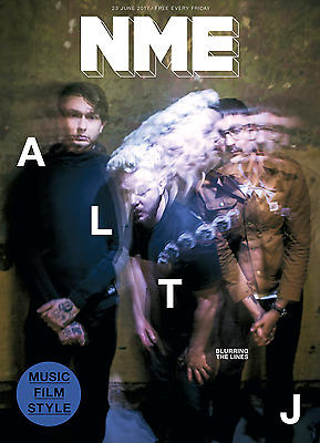 NME Magazine June 2017 - ALT-J Photo Cover Interview - Blurring The Lines