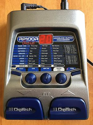 DigiTech RP 100A Artist Modeling Guitar Processor with Power Supply OEM