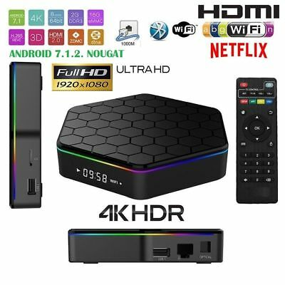 TV BOX Android 4K 3 GB 32G smart tv wifi telecomando andowl Q5 + tastiera