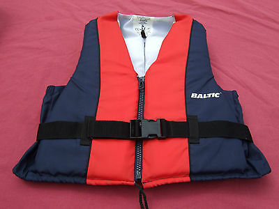 Red/blue Baltic 50N Child/junior Buoyancy Aid/jacket En393 30-50Kg/5-8 Stone