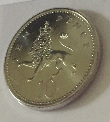 1994 RARE ISSUE Ten Pence Coin 10p UNC Uncirculated BUNC Rare Issue