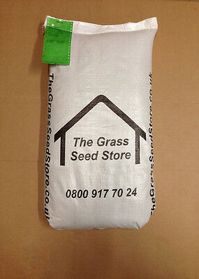15 KG HARD WEARING LAWN SEED - ECONOMY. 15KG Cheap Bags for Back Garden Grass