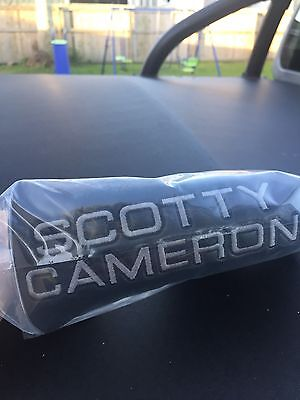 Scotty Cameron Black Ballistic Scotty Dog Blade Putter Cover
