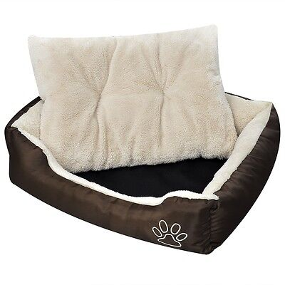 Puppy Pet Dog Cat Bed Soft Fur Washable Water-repellent XXL for Doghouse Indoor