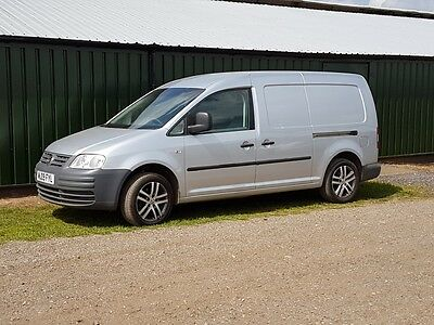 Volkswagen Caddy Maxi 1.9 Tdi 104Ps C20 Lwb Van Silver Alloys No Vat