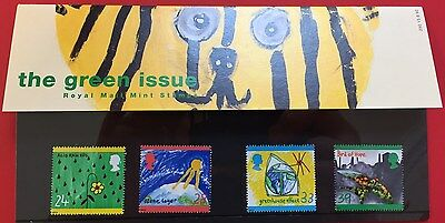 The Green Issue Royal Mail presentation pack stamps, Sept 1992, GB, no 230