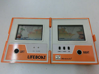 Game & Watch - Life Boat - TC 58 - Multi Screen - Nintendo - guter Zustand !