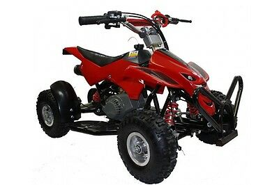 2017 Hawkmoto Street Assassin 50cc Kids Quad Bike - Honda Red