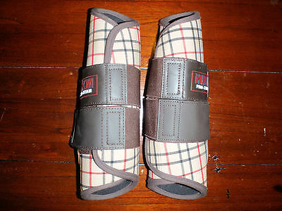 HKM Dressage support boots (fronts pair) Full size (Brand New)