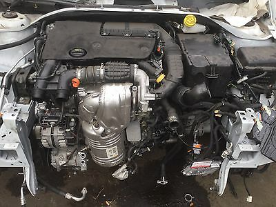 2015 Peugeot 2008 1.6 Hdi Bhy Complete Engine With Injectors Pump Only